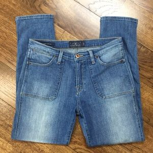LuckyBrand Charlotte Rail High Waisted Skinny Jean
